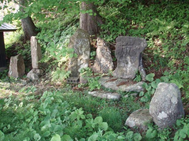 峰吉川の集落2月
