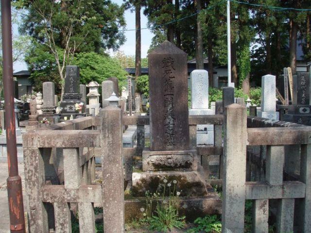 戊辰戦争一関藩士の墓2