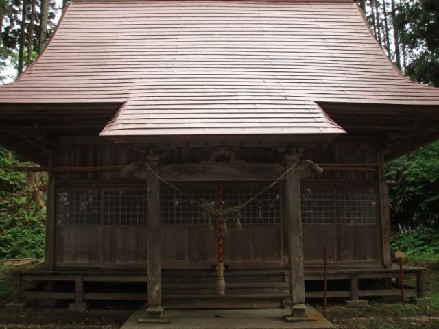 鶴形神社②